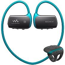 Sony Walkman - Reproductor de MP3 (4 GB, Bluetooth, control remoto), azul