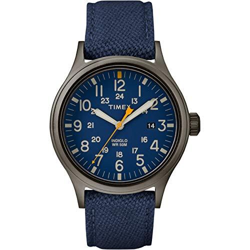 Timex Orologio Analogico Quarzo Uomo con Cinturino in Pelle TW2R46200