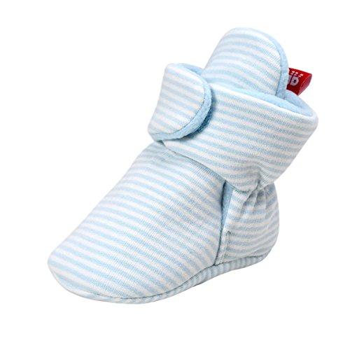 Baby Stiefel, Auxma Baby Jungen Mädchen Winter warme weiche Sohle Stiefel Schneestiefel Weiche Sohle Socken Krippe Schuhe Hausschuhe für 0-6 6-12 12-18 Monate (13cm/12-18 M, F) (Schuhe Bow Kleidung Wohnungen,)
