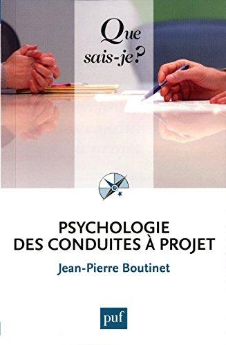 Psychologie des conduites  projet