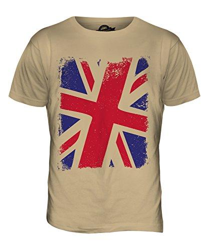 CandyMix Großbritannien Union Jack Herren T Shirt Sand
