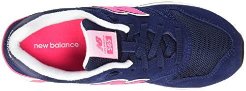 New Balance 565, Scarpe da Ginnastica Basse Donna Multicolore (Navy/Pink)