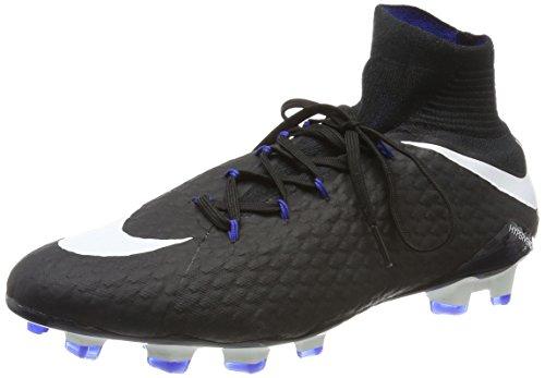Nike Hypervenom Phatal Iii Dynamic Fit (Fg), Chaussures de Football Homme Noir (Black/white-game Royal)