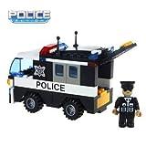 #3: Saffire Police Car Vehicle - 103 pcs