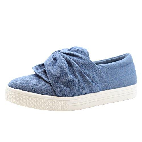 sake bleu Chaussures femme Saute Styles jean de TxU0pS
