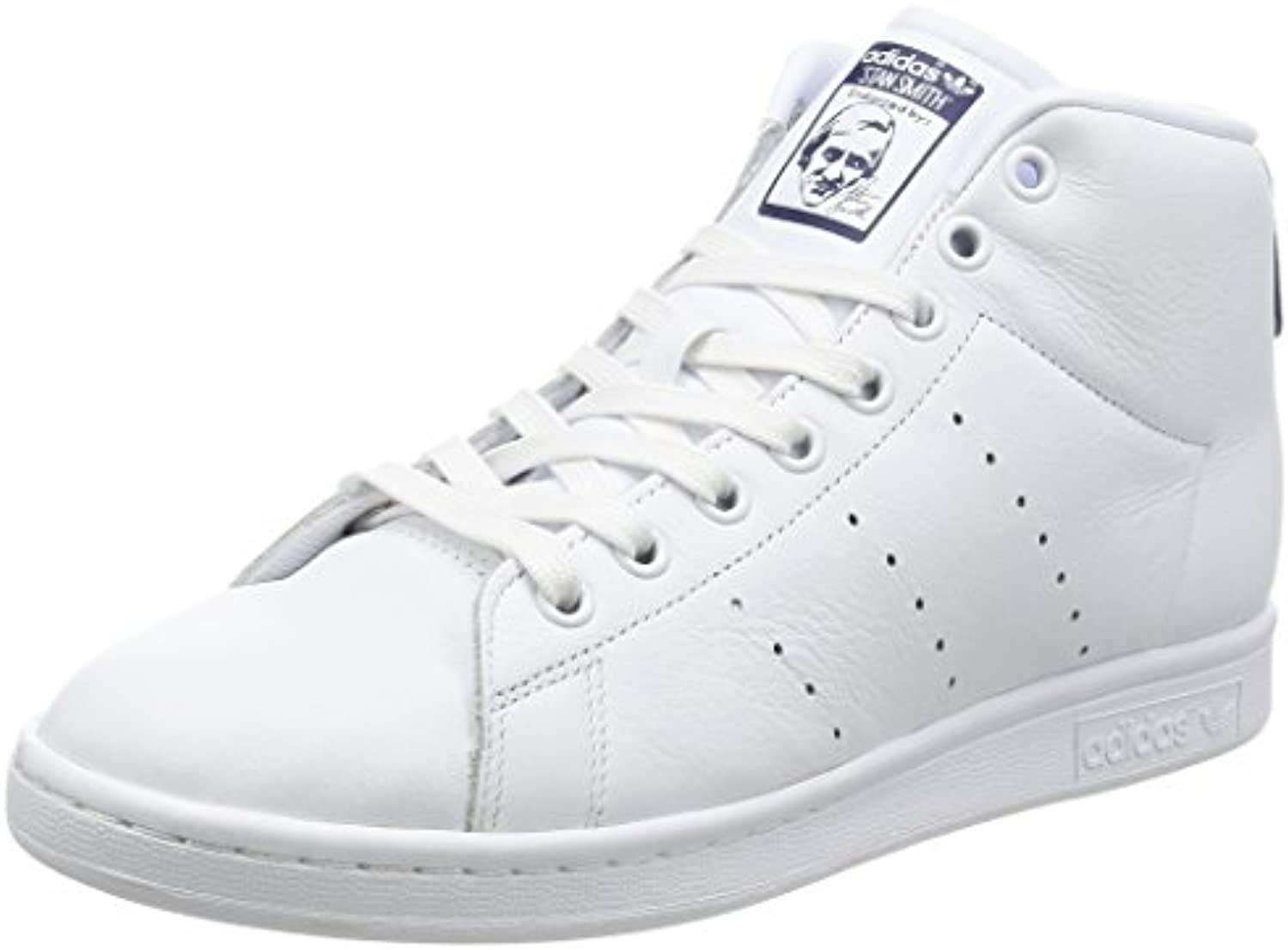 adidas Herren Stan Smith Mid Sneaker Low Hals