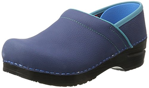 Sanita Original-Prfo.Electra closed 457216W-29, Damen Clogs & Pantoletten, Blau (Navy 29), EU 37 Sanita Professional Clogs