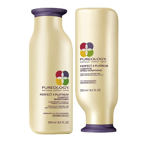Pureology Perfect 4 Platinum Shampoo and Condition 250ml