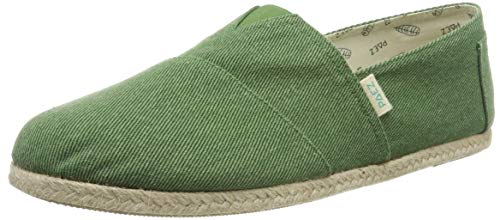 PAEZ Classic Essential Green, Alpargatas para Hombre, Verde Verde 418, 42 EU