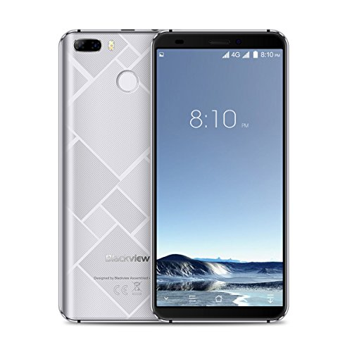 Preisvergleich Produktbild Blackview S6-5, 7 4G FDD-LTE Smartphone,  18:9 Infinity Display,  Android 7.0 Quad Core 2GB+16GB,  SONY Kamera 8MP+0.3MP & 5MP,  Fingerabdruck-Scanner,  4180mAh Dual SIM Entsperrt Handy