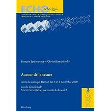 Autour de la césure: Actes du colloque Damon des 3 et 4 novembre 2000 (ECHO / Collection de l'Institut d'Archéologie et des Sciences de l'Antiquité de l'Université de Lausanne)