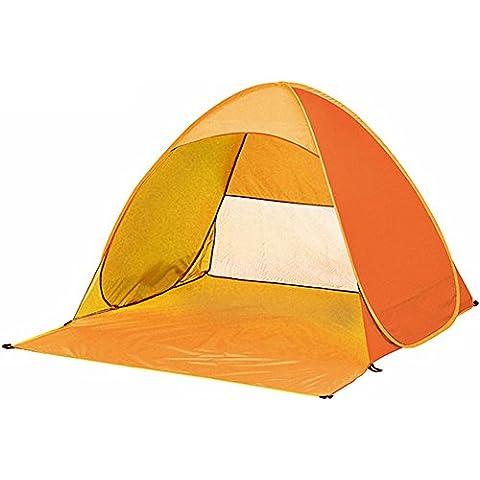 Tang Imp automatico portatile tenda pop-up da spiaggia campeggio pesca trekking Picnicing Anti UV Sun Shelter Canopy, arancione