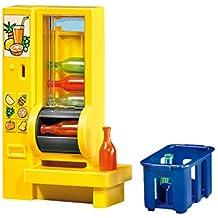 Maquina expendedora bebidas con cesta transporte