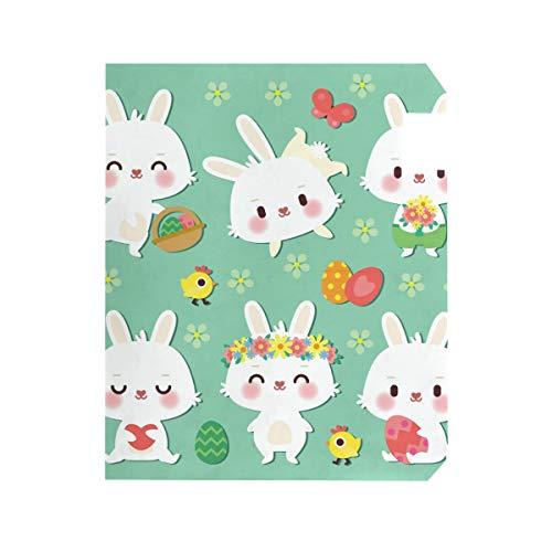 r Kaninchen groß magnetisch Briefkasten-Abdeckung Haus Garten Dekoration 2 Größen ()