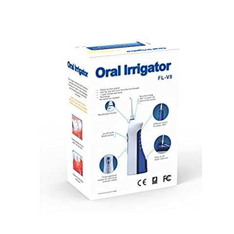 Kohstar Rechargeable Dental Care Oral Irrigator/Oral Irrigator/Oral Irrigator Dental SPA/Teeth Gap Brush High Capacity Water Tank, Waterproof and washable, Three operation modes for varying oral care needs CE, ROHS, FCC, FDA by Kohstar