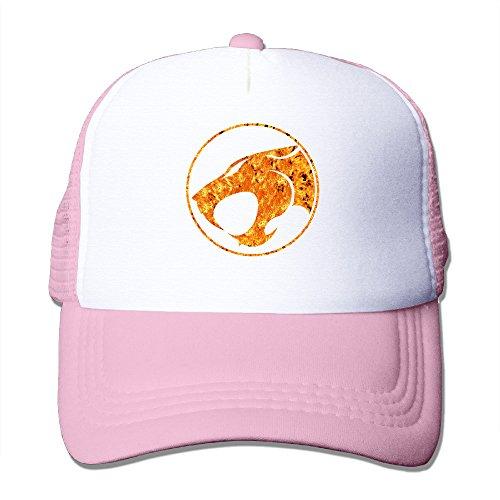 al Two-toned Thunder Cats Summer Hats Caps Black Pink (Black Cat Customs)