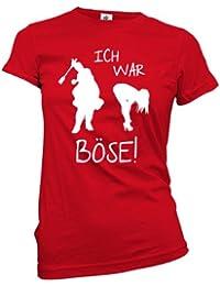 ICH WAR BÖSE - WOMEN T-SHIRT by Jayess Gr. XS bis XXL