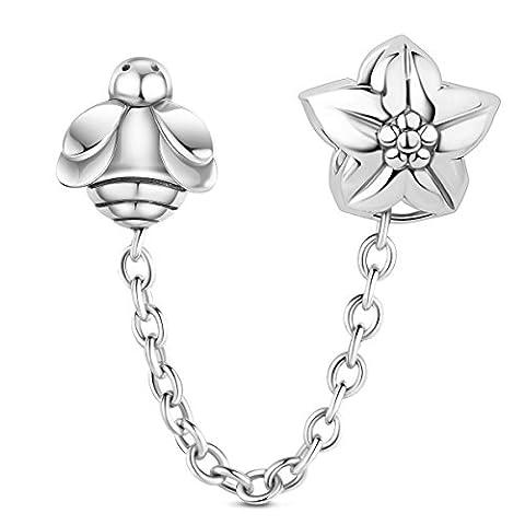 tinysand 925Sterling Silber Fashion Design Honig Bienen Charme Großhandel von Billig Charme (Ziemlich Weihnachten Kleider Für Mädchen)
