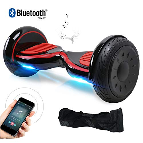 "Windgoo Hoverboard 10"" Bluetooth Balance Board Patinete Eléctrico Scooter Talla LED 350W*2"