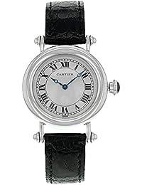 Cartier Diablo 1463.1 Platinum Hand-Wind Midsize Women's Watch