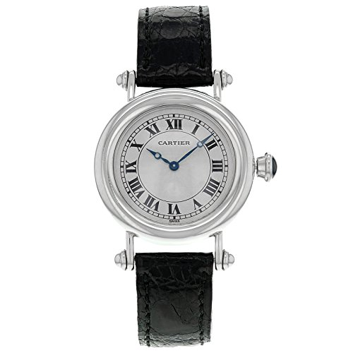 Cartier Diablo Platinum Damen-Armbanduhr