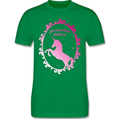 Statement Shirts - Sternzeichen: Einhorn - Herren Premium T-Shirt Grün