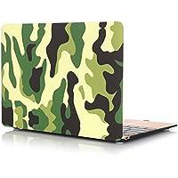 Macbook 13-inch Cover, UCMDA Colorful [leggero] Laptop rigida per MacBook Air 13.3(modello: A1369/A1466)–Colorful Swirl - American Flag Tapestry