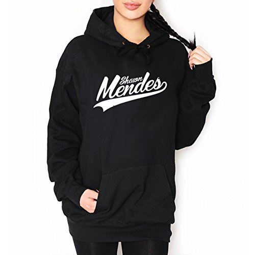 Gift Hoodie (wallshirt - SHAWN MENDES Hooded Sweatshirts Hoodie Kapuzenpullover Autumn Winter Mann Herren Frau Damen Unisex Gift Idea. Color: Black; Size:)