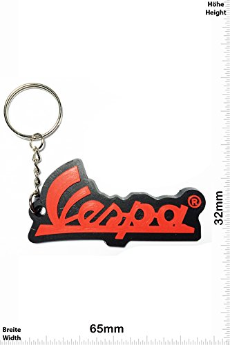 keychains-porte-cles-vespa-red-scooter-motorcycle-motorbike-car-scooter-key-ring-kautschuk-rrubber-k