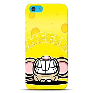 Diabloskinz D01030025Fully Printed Dual case for the iPhone 5°C–Cheese