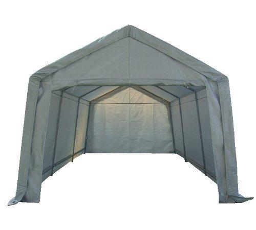 FoxHunter Heavy Duty Waterproof 3m x 6m Carport Party Tent Canopy White 180g Polyster Steel Frame Test