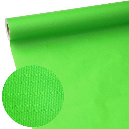 50m x 1,15m JUNOPAX® Papiertischdecke apfel-grün   nass- und wischfest