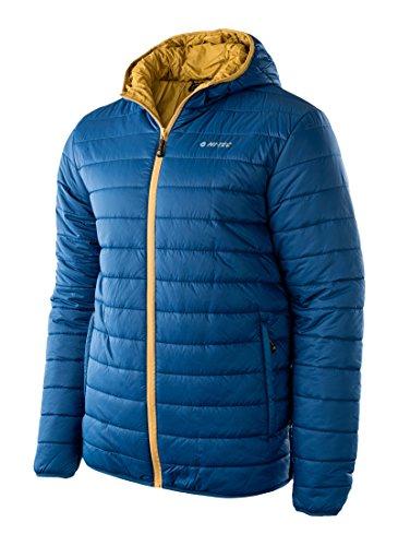 Elbrus Herren Noris Padded Jacket Poseidon/Mustard Gold
