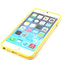 Iphone 6/6s Silicon Bumper Transparent Yellow by G4GADGET®
