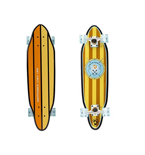 Kryptonics 30 Cutaway Cruiser Complete Skateboard - Anchors Graphic by Kryptonics