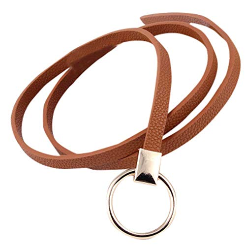 Serily Women Bohemian Belt, Quaan Braided Rope artficial for Peacock Feather Fringe Belt Waist Belt Elastic