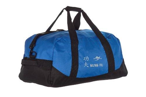 Kindertasche blau/schwarz Kung Fu