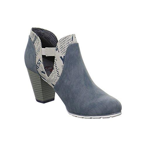 s.Oliver Stiefelette 5-25325 Damen Ankle Boots Blau Blau