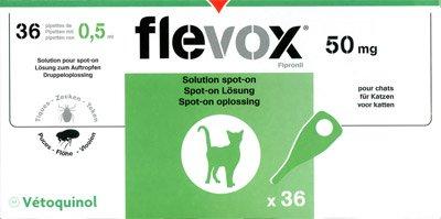 Flevox Spot-On Chat - 36 pipettes