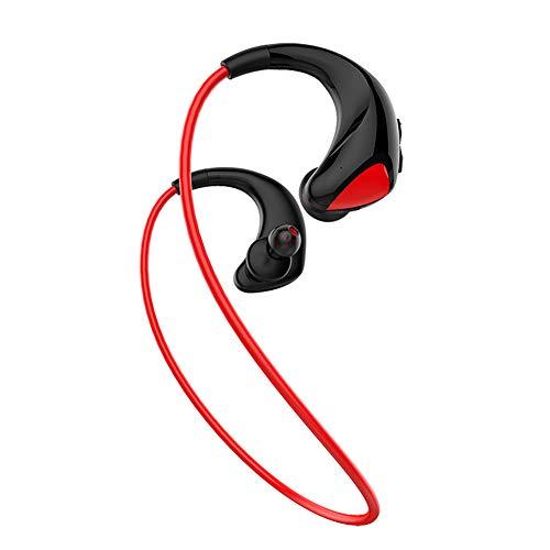 DLBJ In-Ear-Bluetooth-Headset/Sport-Headset Mit Hinterem Speicher,Red