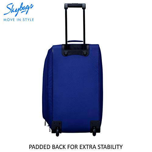 Skybags Scot Plus Polyester 64 cms Blue Travel Duffle (DFTSPE64BLU) Image 6