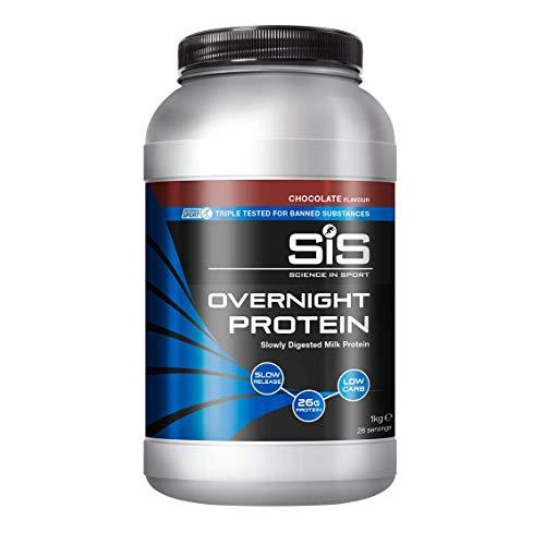 Science in Sport SiS Overnight Polvere proteica per la notte, gusto Cioccolato, 1Kg