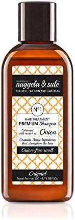 Nuggela Sulé Champú Premium con extracto de cebolla, formato de viaje - 100 ml (8437014761238)