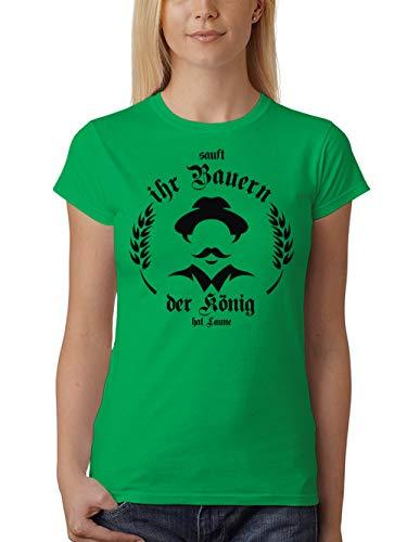 clothinx Damen T-Shirt Unisex Sauft Ihr Bauern der -