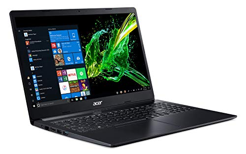 Acer Aspire 3 Thin A315-22 15.6-inch Laptop (A4-9120e/4GB/1TB HDD/Windows 10/AMD Radeon R4 Graphics), Charcoal Black Image 3
