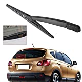 RAISSER CITALL Car Rear Window Windshield Wiper Arm + Wiper Blade for Nissan Qashqai 2008 2009 2010 2011 2012 2013