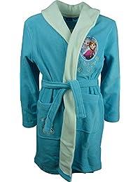 Disney Frozen El Reino del Hielo Elsa & Anna Niñas Bata de baño / Albornoz Azul