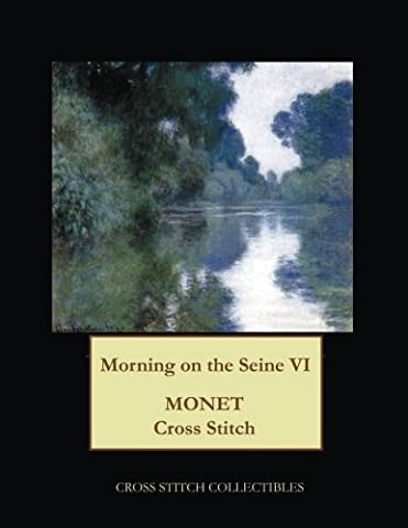 Morning on the Seine VI: Monet cross stitch pattern