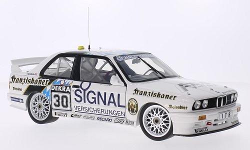 BMW M3 (E30), No.30, BMW Team Isert, Franziskaner, DTM, 1991, Modellauto, Fertigmodell, Minichamps 1:18 (E30-motor)