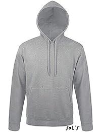 SOL 'S Schlange Unisex Hooded Sweatshirt Grau Marl M